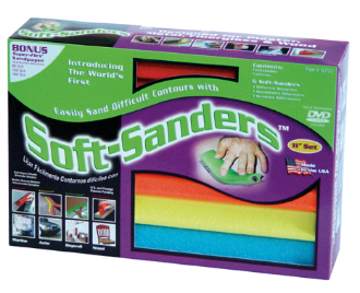 "Automotive 11"" Soft Sanders 6 Pack"